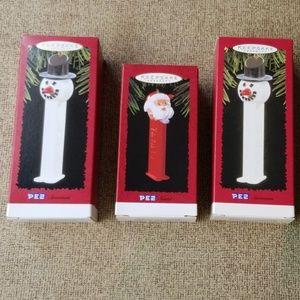 Pez Hallmark ornaments